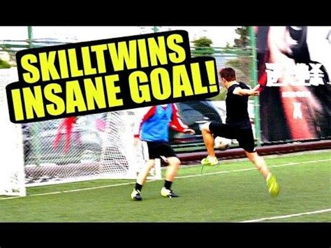 skilltwins football tutorial skilltwins insane in game football skill goal youtube