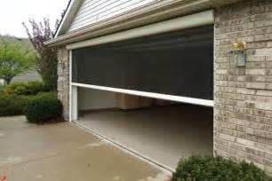 Garage screen doors picture the better garages garage screen