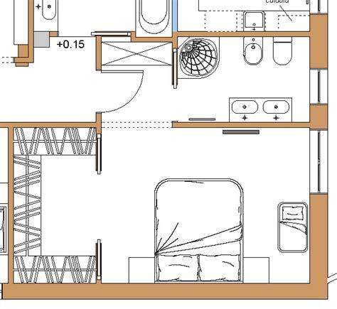 cabina armadio con bagno progetto idea a domicilio