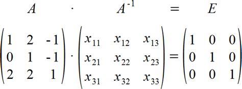 wann ist eine matrix invertierbar inverse einer matrix einfach und ausf 252 hrlich erkl 228 rt