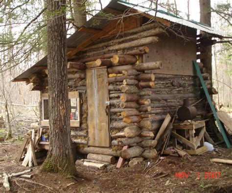 Building A Small Cabin In The Woods by Log Cabin 6 Steps