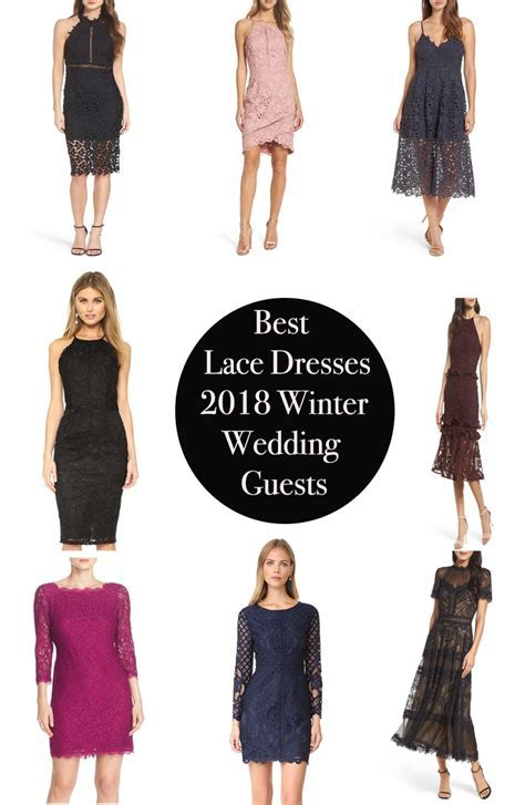 Best Lace Dresses For 2018 Winter Wedding Guests   Candie