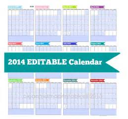 Editable Calendar 2014 Template search results for editable 2015 calendars page 2