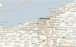 Map Of Lakewood Ohio by Lakewood Ohio Location Guide
