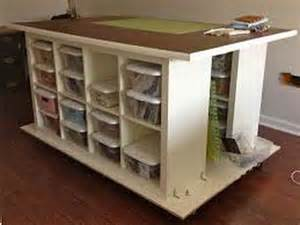 Craft Desk Storage Ideas by Storage Craft Table With Storage Ideas Arts And Crafts