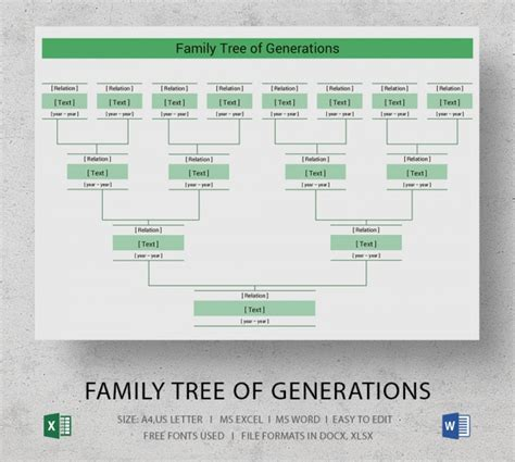 family tree blank form free download