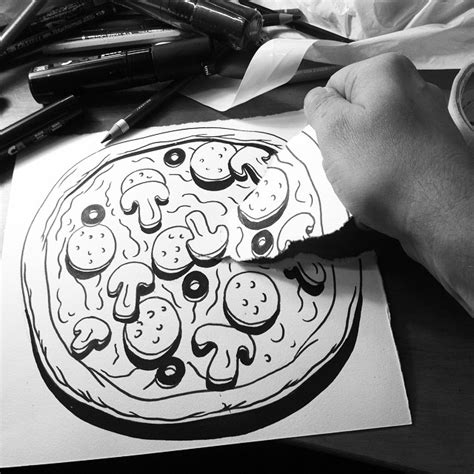 Black And White Drawings by Clever Black And White 3d Illusion Drawings By Huskmitnavn