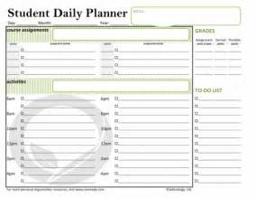 Daily School Planner Template by Free Printable Daily Organizer Pages New Calendar