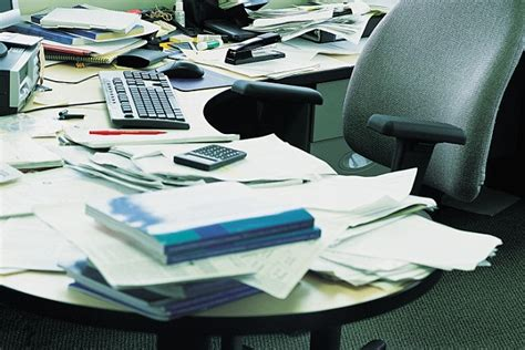 Cluttered Desk Cluttered Mind by Jade Sky Of Clear Your Office Book Gives Top Tips On
