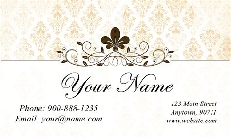 business card jewelry templates white jewelry business card design 1901151