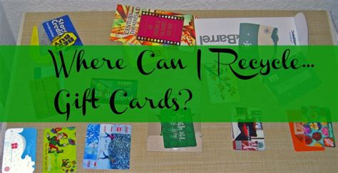Recycle Gift Cards - where to recycle gift cards wci weds