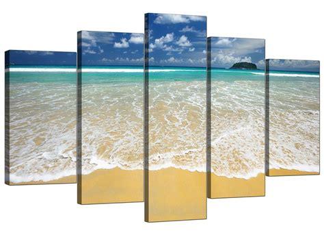 Bathroom Canvas Art by Large Canvas Prints Of Tropical Beach 160cm X 75cm