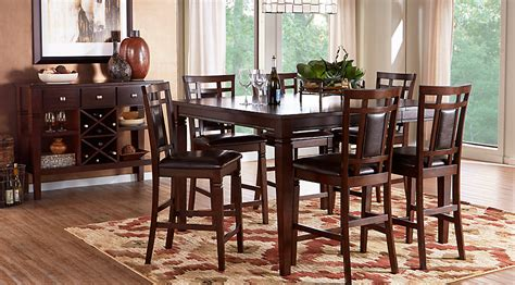 countertop dining room sets countertop dining room sets cabrillo counter height dining