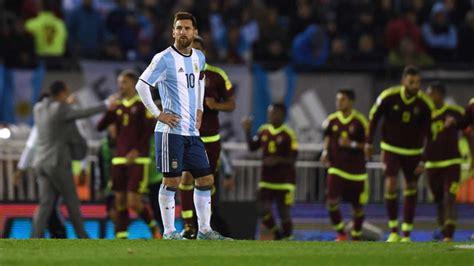 Lionel Messi Argentina World Cup 2018 World Cup Qualifiers Lacklustre Messi Led Argentina