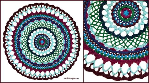mandala pattern youtube crochet tutorial henna inspired mandala youtube