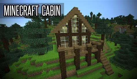 how to make a small cabin in minecraft