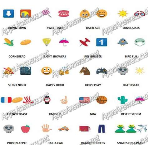 emoji quiz level 40 100 pics emoji quiz 4 level 21 level 40 answers apps