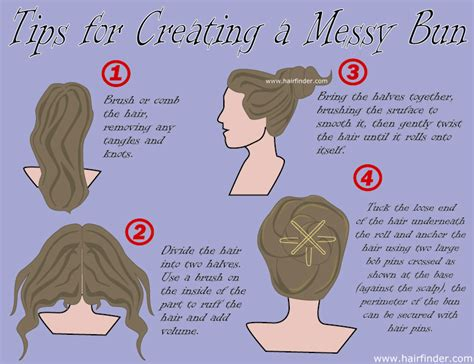 how do you do a messy bun fashion s world hairstyle messy bun is very great