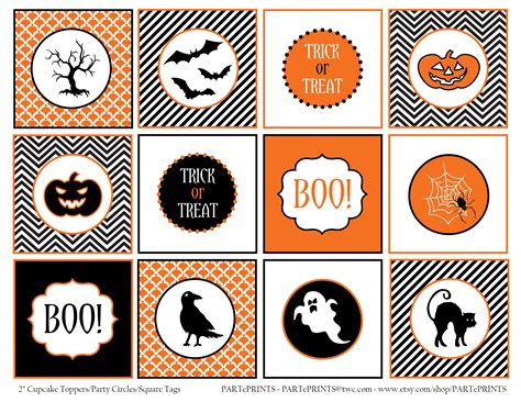 printable halloween tags free halloween printables from parteprints catch my party
