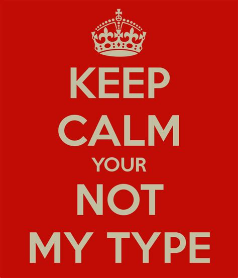 Balisi Co keep calm your not my type poster gerome balisi keep