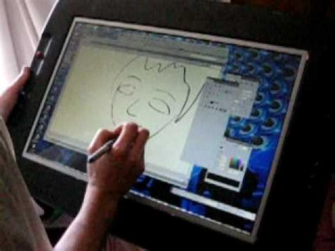 E Drawing Pad by Exotiq Digital Drawing Tablet Demonstration