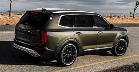 Kia New Suv 2020 by 2020 Kia Telluride Flagship Eight Seat Suv Debuts