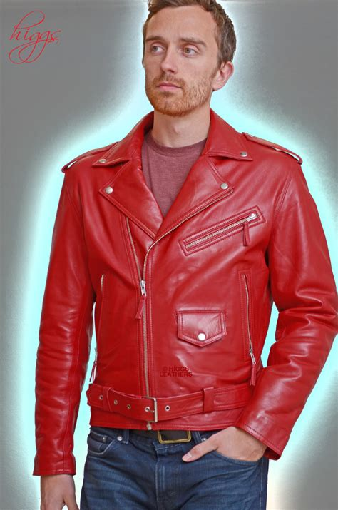 red leather motorcycle red leather biker jacket men cairoamani com