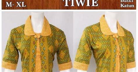 Ceria Blouse by Til Cerah Ceria Dengan Blouse Batik Tiwi