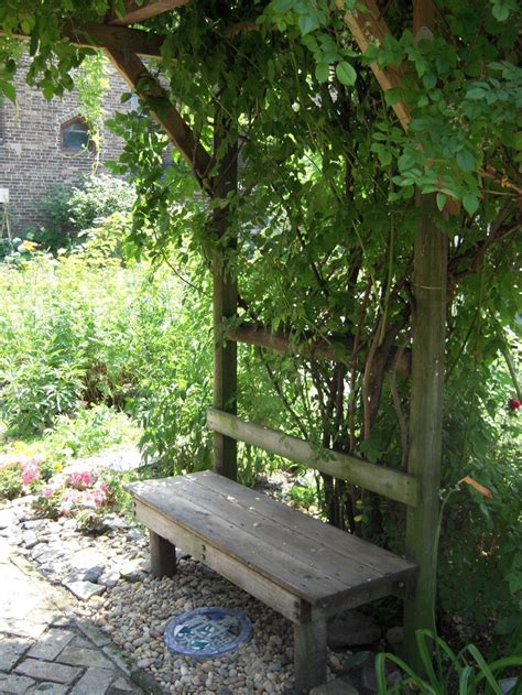 Garden Arch With Bench 17 Best Images About Flower Gardens With Benches On
