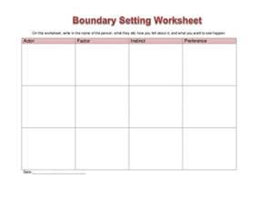 worksheet boundary setting
