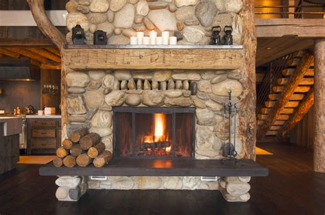 Driftwood Fireplace by Driftwood Mantle Steals Rustic Appeal From The Past And