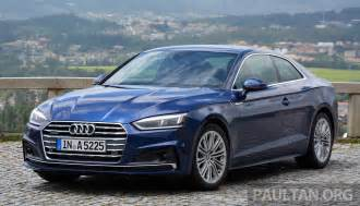 Audi S5 Price In Malaysia Audi Malaysia To Go Big In 2017 New A5 Sportback And A3