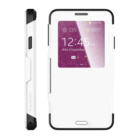 Cover Samsung Galaxy Note 5 Spigen Slim Armor Black spigen slim armor view for samsung galaxy note 3 smooth white reviews mobilezap australia