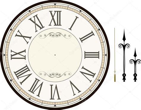 template clock vector vintage clock face template stock vector 169 hayaship
