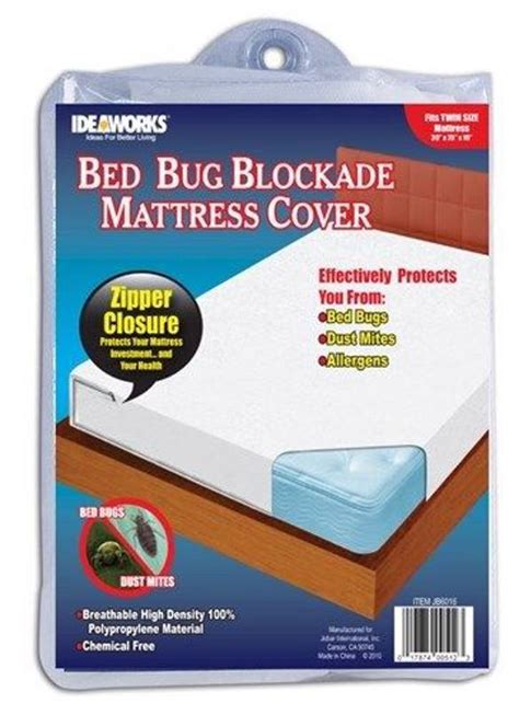 Allergy And Mattress by Ideaworks Bed Bug King Blockade Mattress