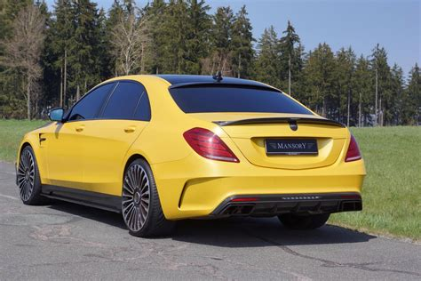 mansory reveals yellow mercedes s63 amg gtspirit