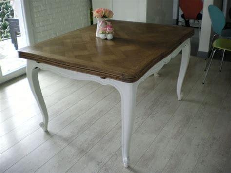 Repeindre Une Table En Bois Vernis by Repeindre Une Table En Chene Atelier Retouche
