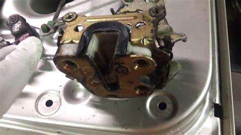 understanding door lock mechanism wd21 nissan pathfinder