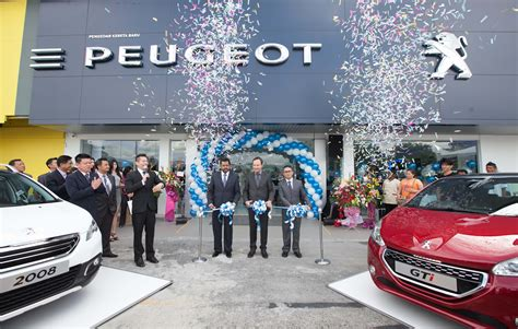 peugeot ipoh garden opened fifth new outlet this year