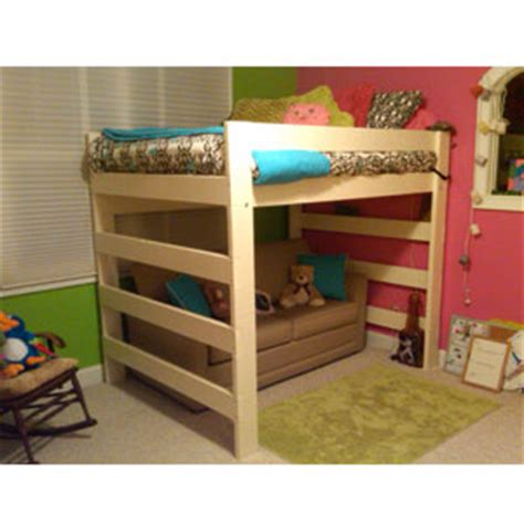 loft bed wood solid wood space saving loft beds nationalfurnishing com