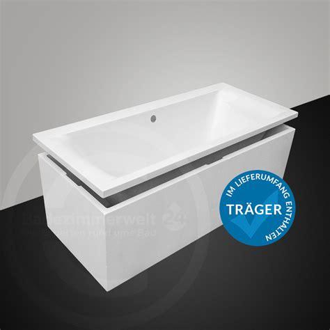 badewanne komplettset badewanne set 170 180 cm viega simplex inkl tr 228 ger