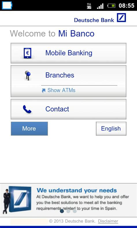 deutsche bank credit card apply my bank android apps on play