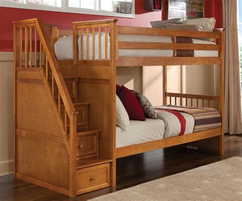 loft bunk beds stairs bunk beds with stairs