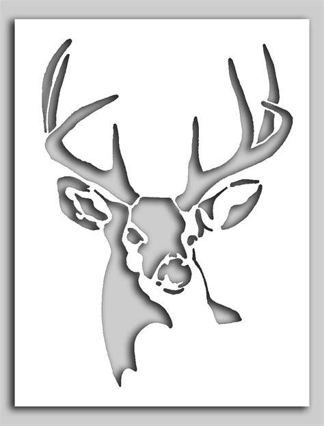 printable stencils deer deer stencils gallery