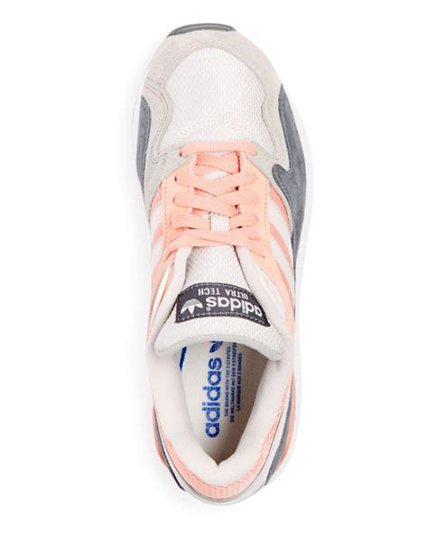 adidas mens ultratech lace  sneakers  pink  men lyst