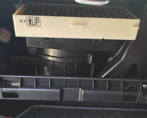 Filter Cabin Ac cabin ac filter installation team bhp