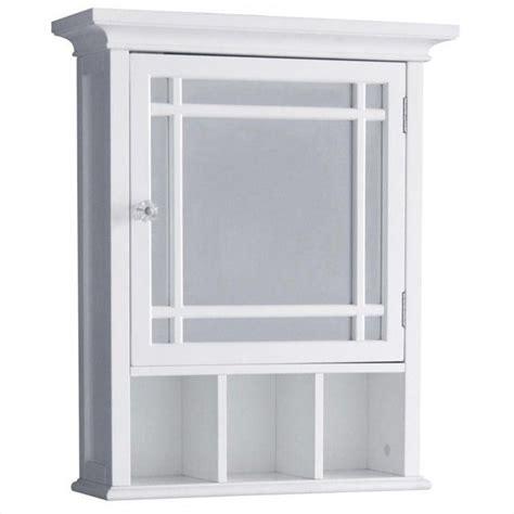 1 door medicine cabinet in white 7442