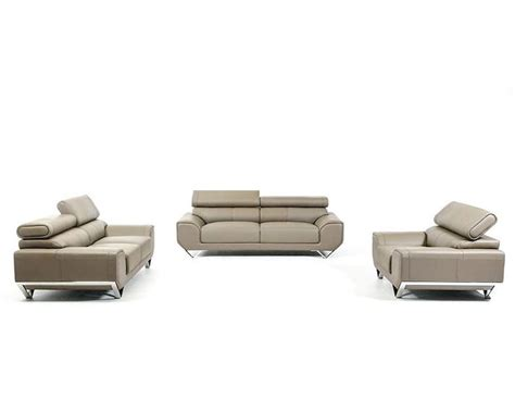 modern leather sofa sets leather sofa set in modern style 44l5955