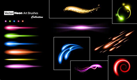 vector neon tutorial quick tip create a set of neon art and scatter brushes in