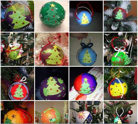 Boule De Noel A Decorer by Une Boule De No 235 L En Polystyr 232 Ne 224 D 233 Corer Tiniloo